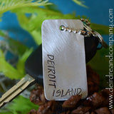 Washington Island/Detroit Island/Door County Dog Tag in Pewter