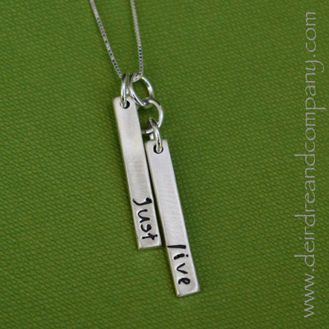 Just Live Necklace