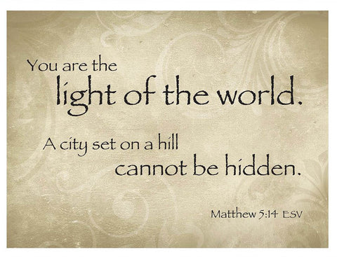 Light of the World Greeting Card