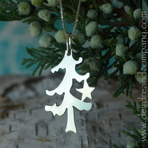 O Tannenbaum Christmas Tree Necklace