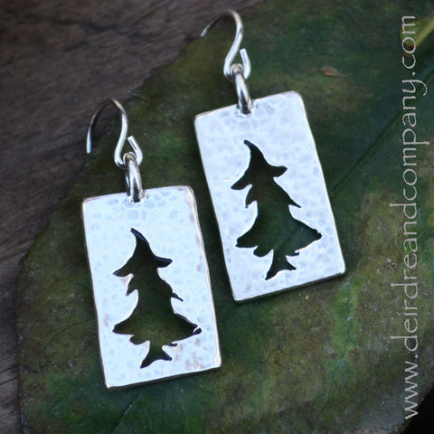 Trees of the Forest Earrings ~ Large