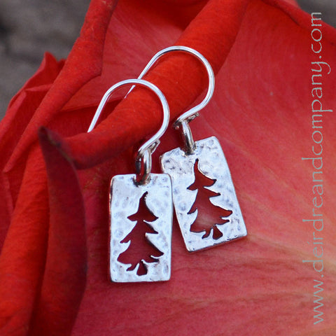 Trees of the Forest Earrings - Small
