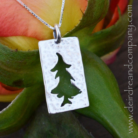 Trees of the Forest Sterling Necklace ~ Large