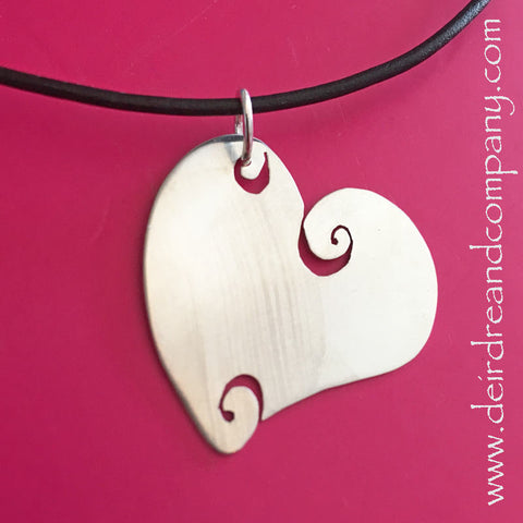 Widen Your Heart Sterling Silver Necklace