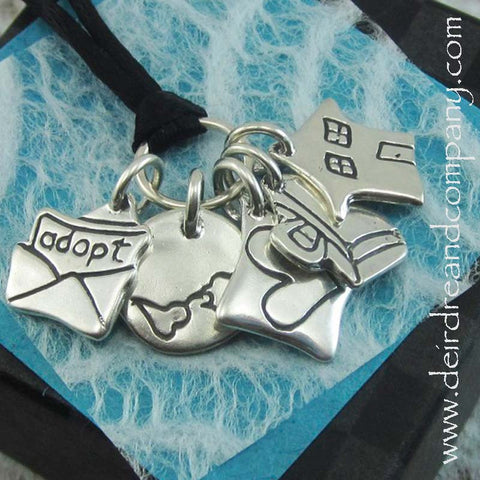 Adoption Story Necklace