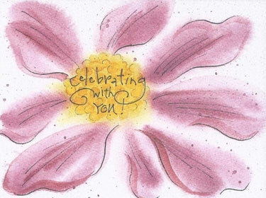 Celebrating with You Greeting Card
