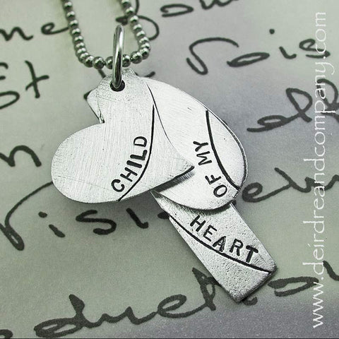 Child of My Heart Pewter Necklace