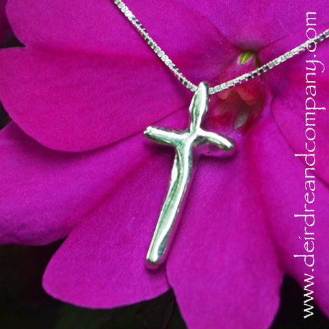 Complete in Christ Sterling Cross Necklace