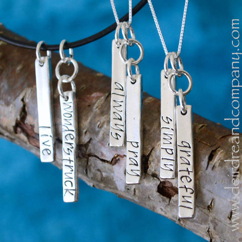 Favorite Things Blessing Bar Necklace ~ Double Your Blessings with Two Bars