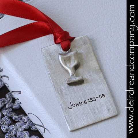 Sacraments First Holy Communion Bookmark