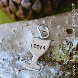 Faith Journey Marker Chalice in Pewter