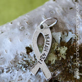 Faith Journey Marker Ichthus in Pewter