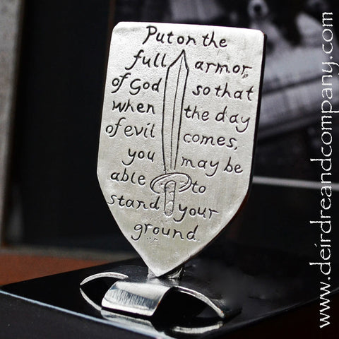 Put on the Full Armor of God Shield of Faith