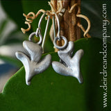 Peace in the Spirit Dove Earrings in Pewter