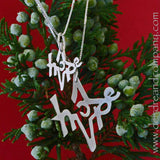A Little Hope Silver Star Necklace