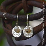 Live Simply Sterling Earrings with Tiny Pearls