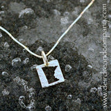 Minnesota Nice Necklace in Sterling and Rose Gold Vermeil