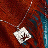 New Mercies Sun Necklace in Sterling