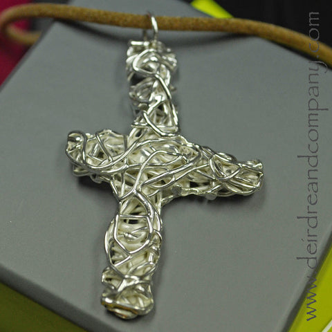 True Vine Cross Necklace ~ D