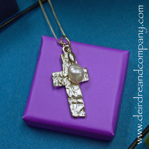 Rugged Cross Necklace ~ G