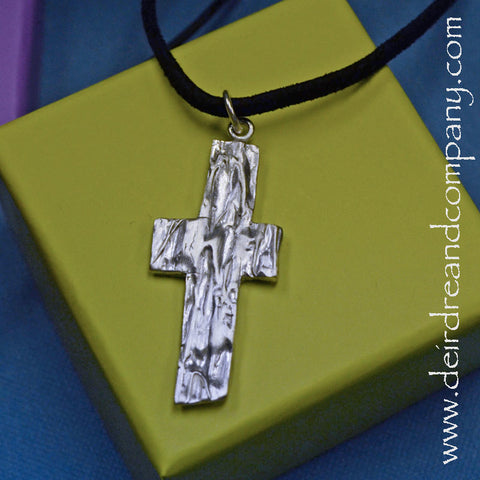 Rugged Cross Necklace ~ H