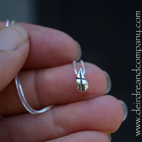Remember Your Covenant Cross Necklace in Sterling Silver