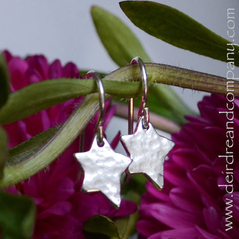 Shine Brightly Sterling Star Earrings