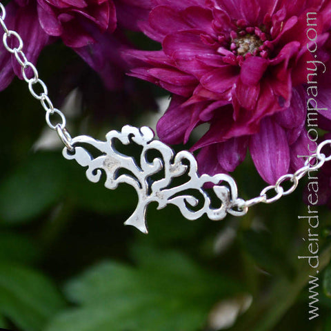 Tree of Life Necklace in Sterling Silver