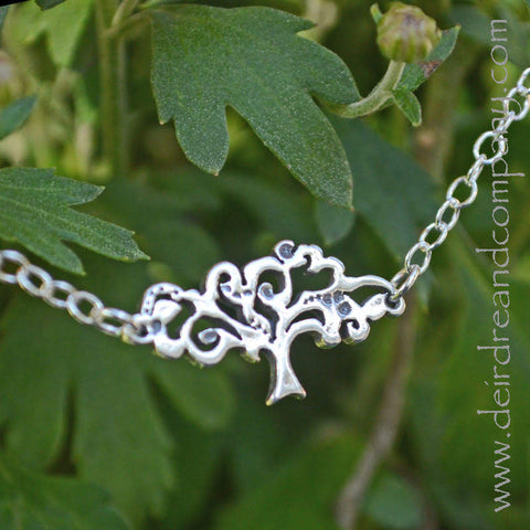 Dei's Ciduous Tree Necklace in Sterling Silver