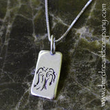 Willow Tree Necklace in Sterling Silver