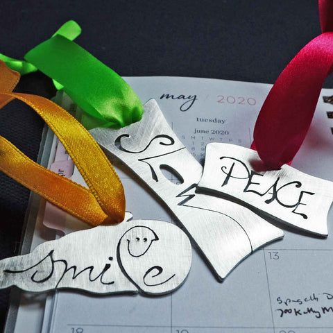 A Word for You Ornament & Bookmark