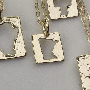 Minnesota Nice Necklace in 14K Gold Vermeil