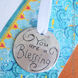You Are a Blessing Pewter Ornament