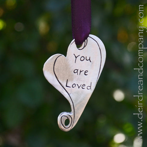 You Are Loved Heart Ornament