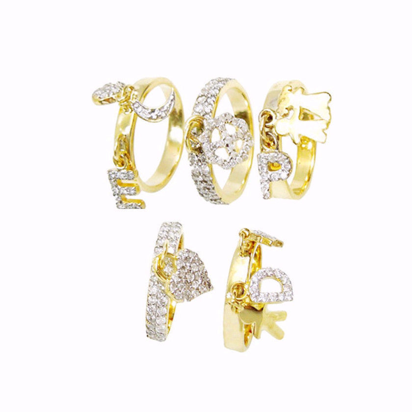 Assorted Diamond Studs