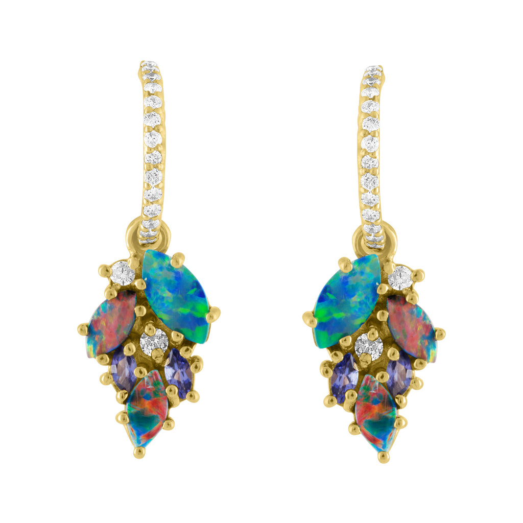 Boulder Opal Drop Earrings