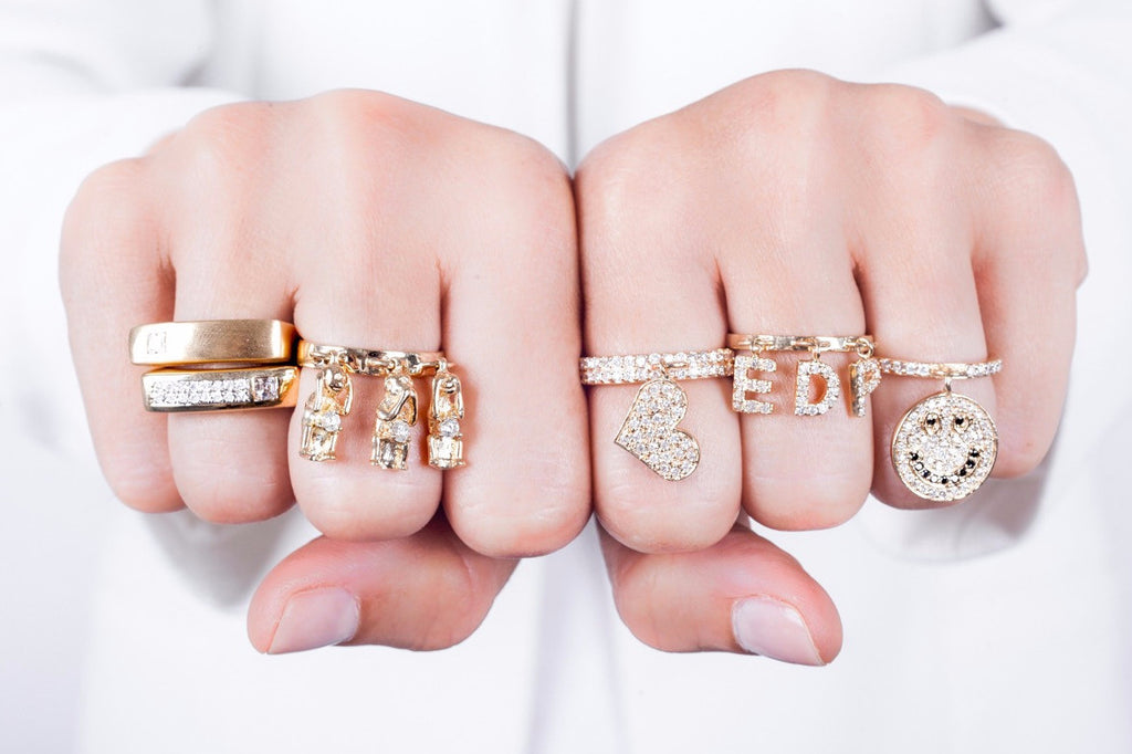Large Charm Rings