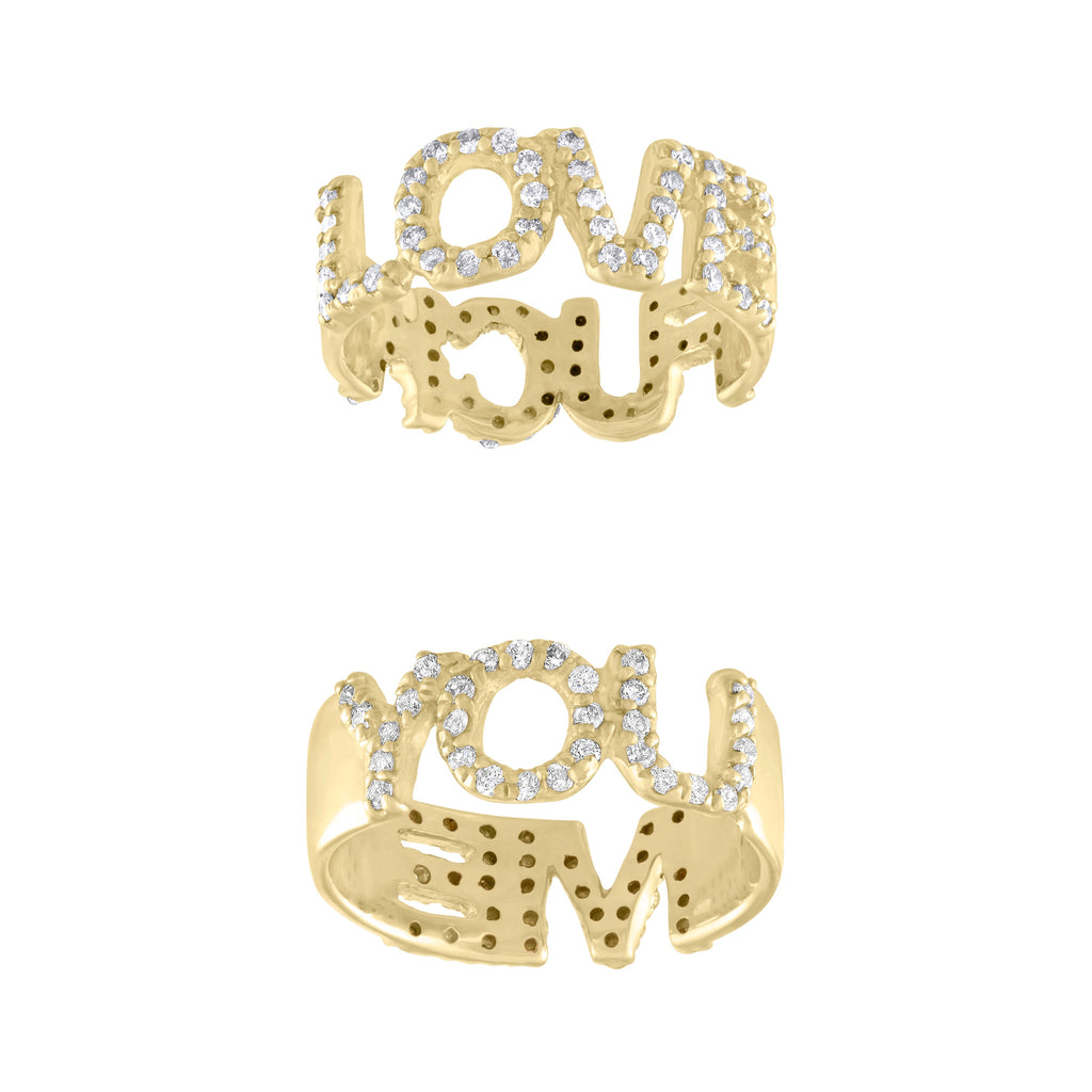 Love-F*ck, You-Me Twist Rings