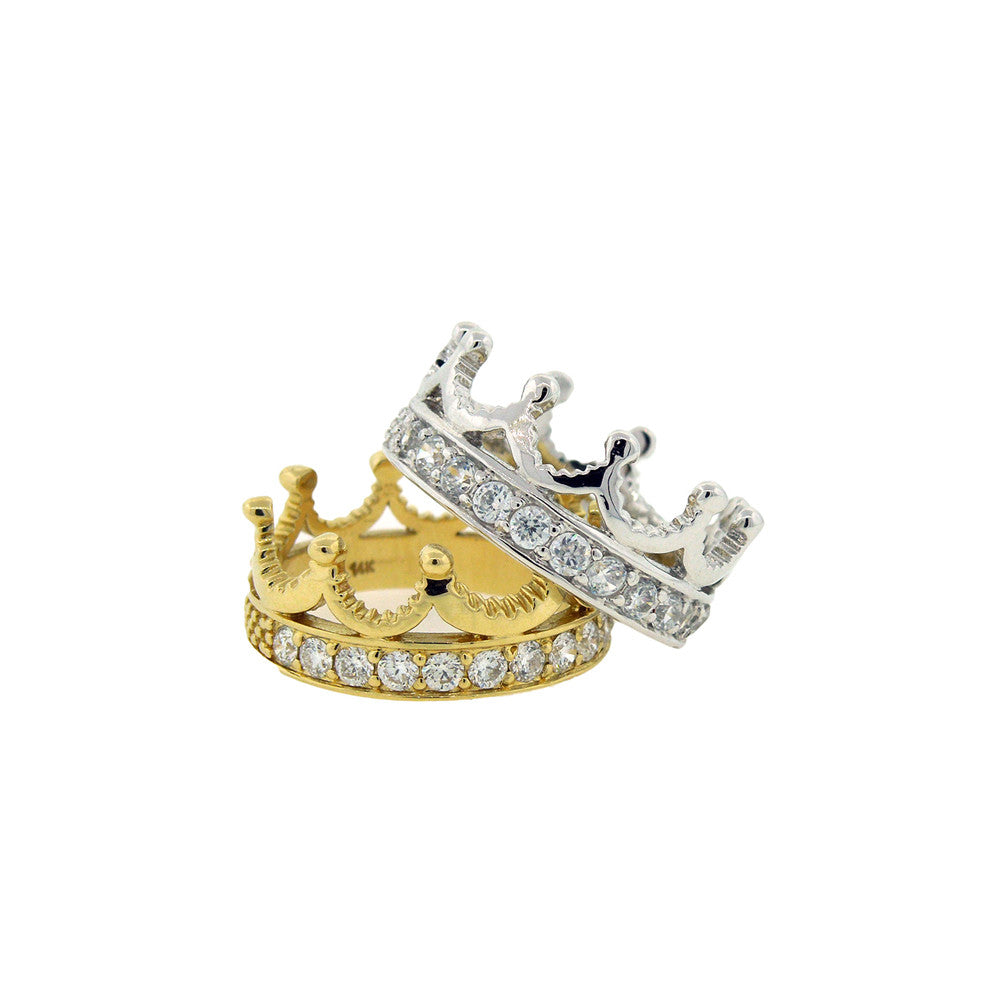 King and Queen Stack Rings