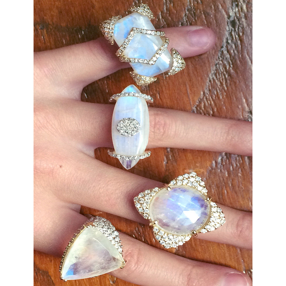 Rainbow Moonstone Diamonds