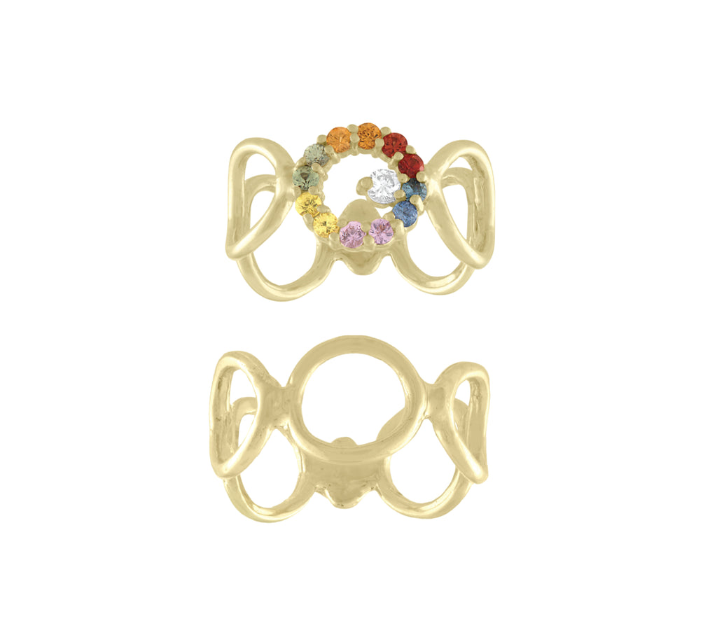 Bubbles Rainbow Ring