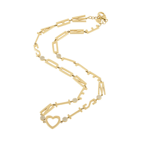 Golden Mantra Necklaces