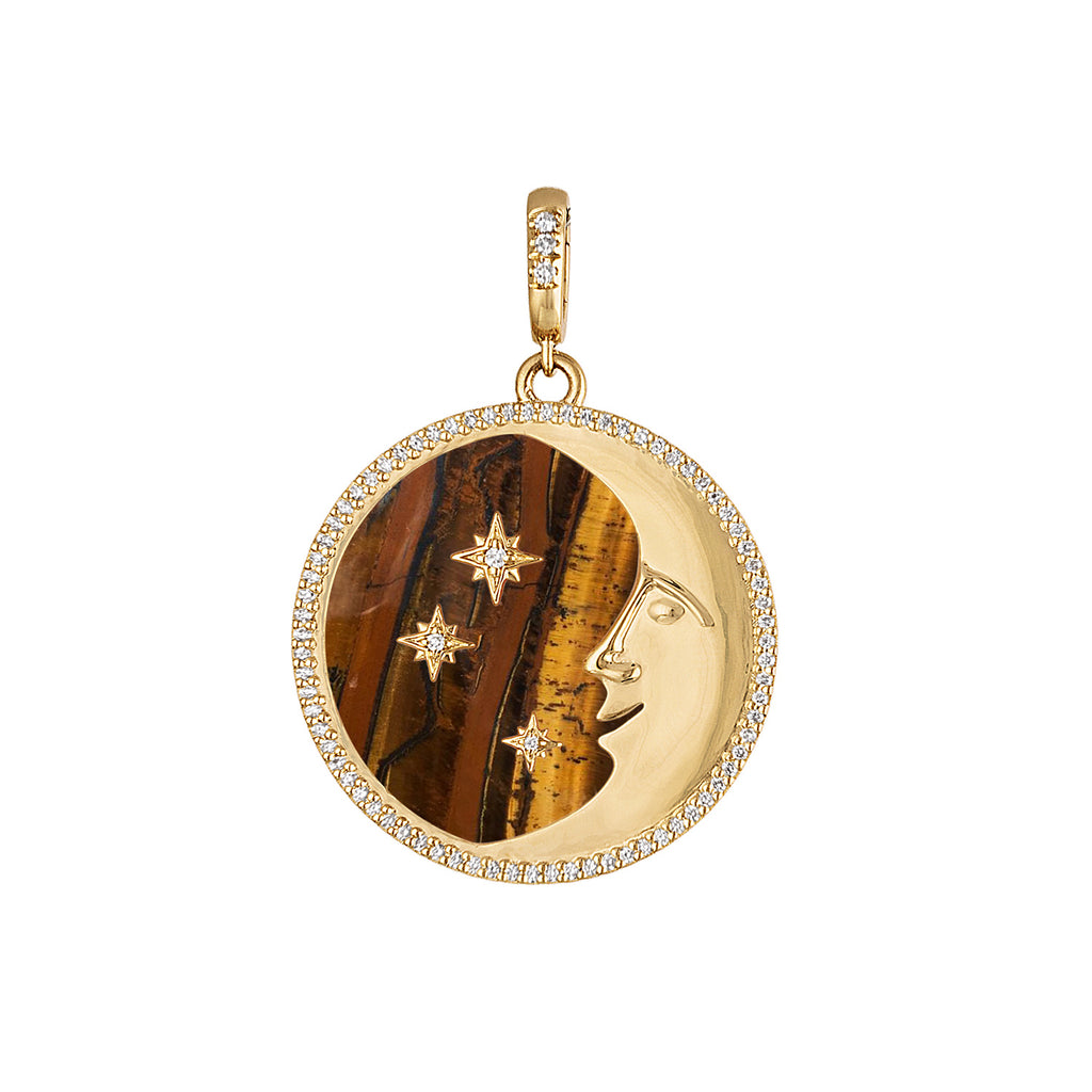 More than the Moon & All of the Stars Pendant