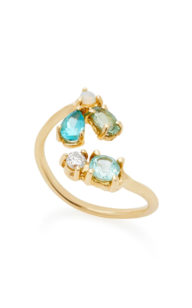 Cluster Open Finger Ring