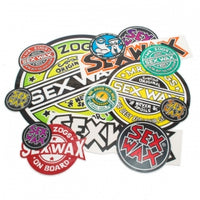 "SEX WAX 3"" CIRCLE DECAL STICKER"