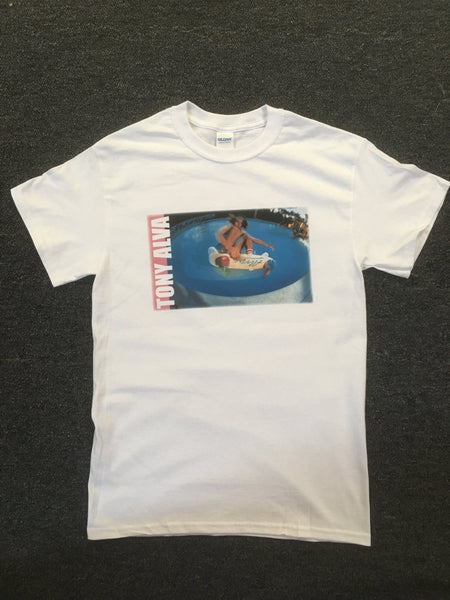 Tony Alva T Shirt (frontside air in pool)