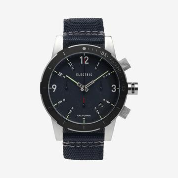 ELECTRIC FW02 POLY NATO WATCH (BLACK)