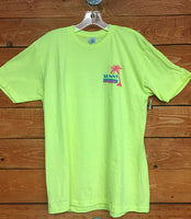 Sunny Smith Palm Tee Florescent Green