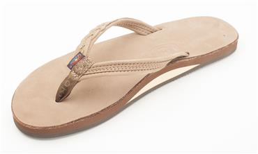 NEW - The Madison – Premier Leather Single Layer Arch Narrow Strap with Braid and Rolled Strap