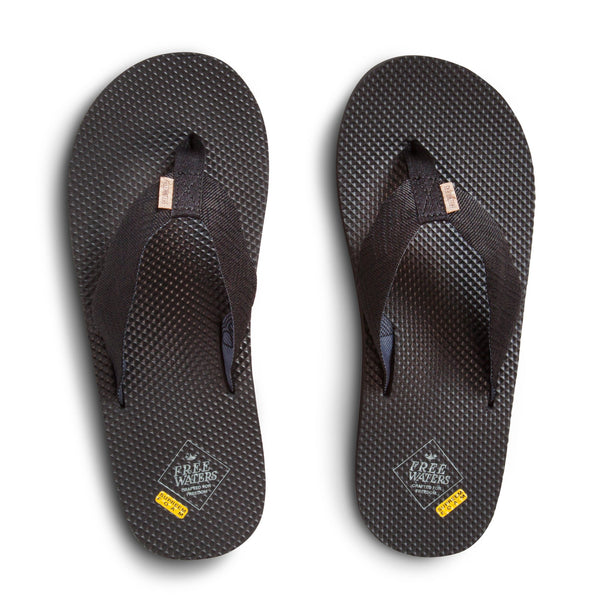 FreeWaters Supreem Black Men's Sandals